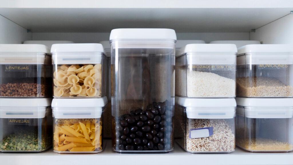 организация пространства и хранения на кухне