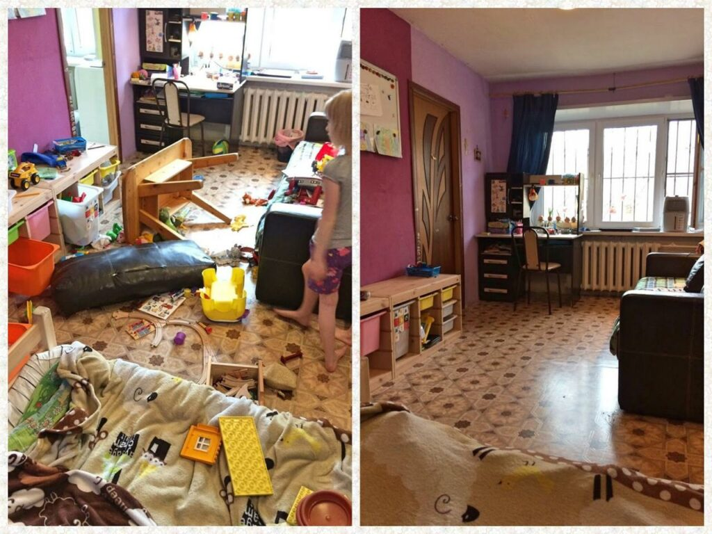расхламление квартиры