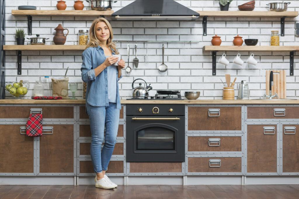 организация кухонного пространства своими руками