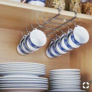 идея 1 хранения для маленькой кухни