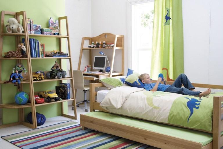 организация пространства в детской