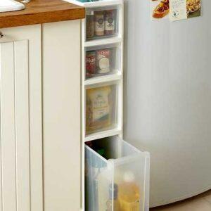 3 идея хранения для маленькой кухни
