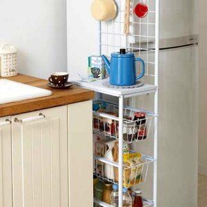 4 идея хранения для маленькой кухни