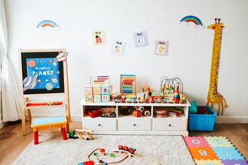 Организация игрового пространства детской