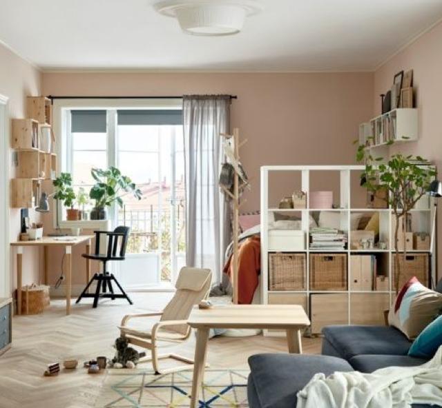 организация пространства и порядка в комнате