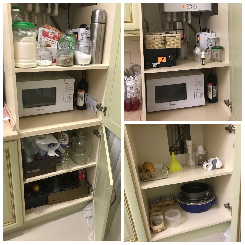 расхламление кухни