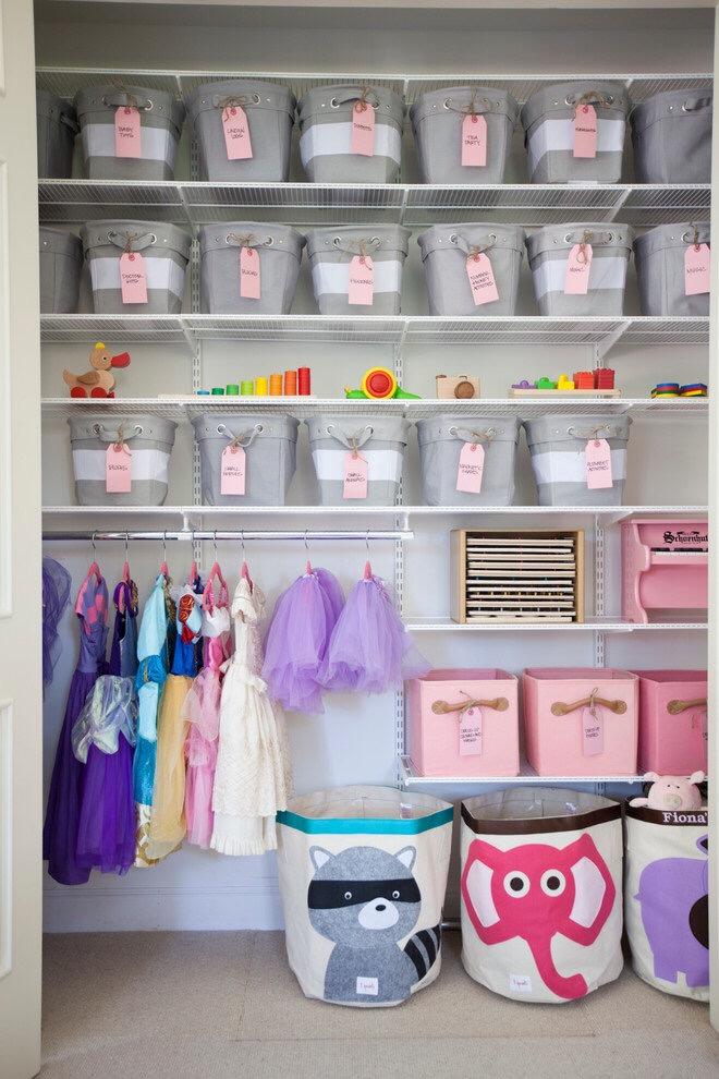 Организуем детскую одежду