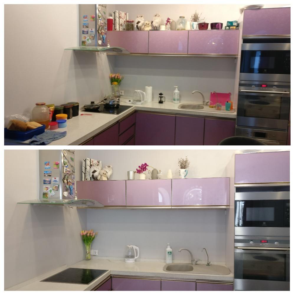 уборка и расхламление кухни