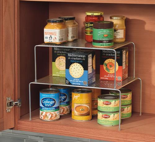 системы хранения вещей на кухне