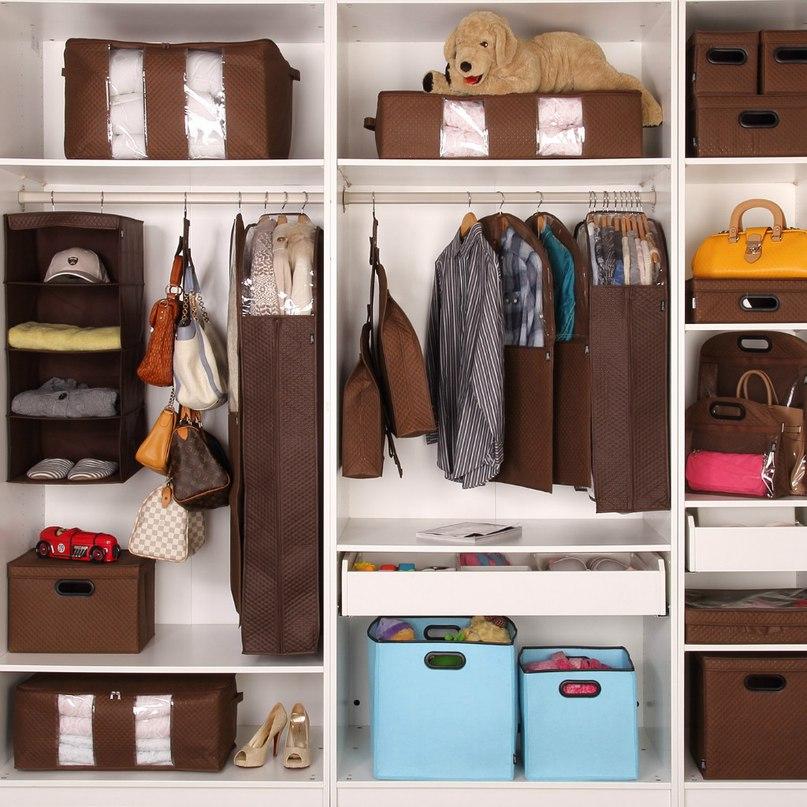 система хранения вещей дома