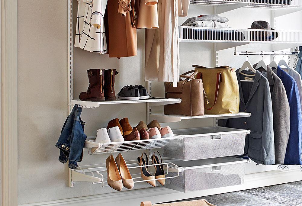 системы хранения вещей для гардеробной купить