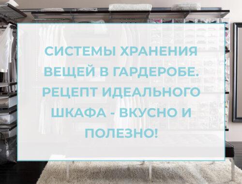 лого для статьи системы хранения вещей для гардеробной