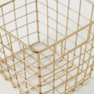 товары для организации пространства hm home металлическая корзина