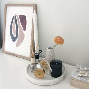 товары для организации пространства hm home мраморный поднос