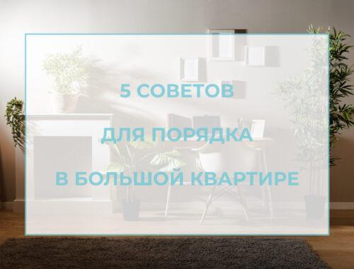 лого порядок в большой квартире