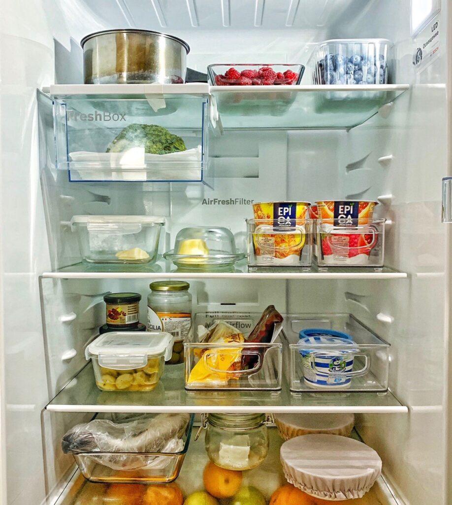 порядок в холодильнике